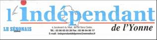 logo l'independant de l'yonne