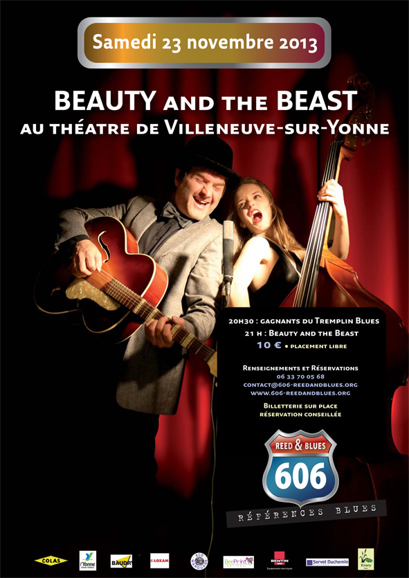Affiche A4 Beauty and the Beast_Mise en page 1