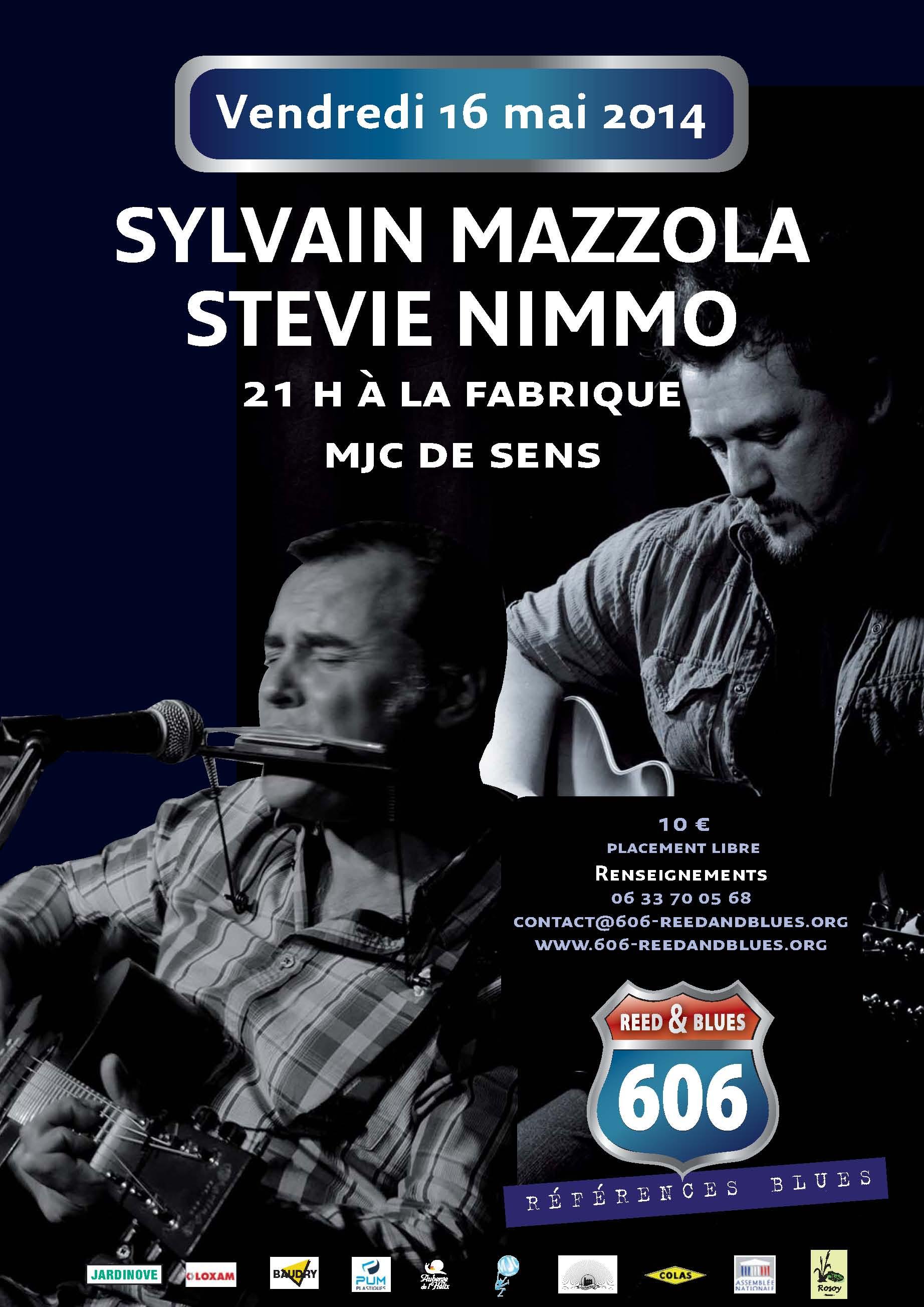 Affiche SYLVAIN 16 mai 2014